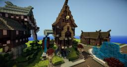 SteamPunk Style House Minecraft Map & Project
