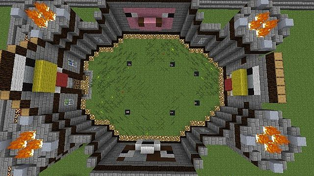 Animal Farm Schematic Minecraft Project
