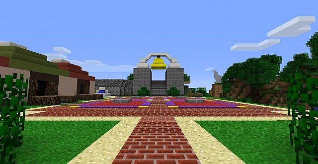 Progress on the Minish Cap game world