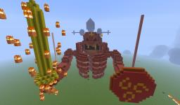 Itachi's Imperfect Susano'o Minecraft Map & Project