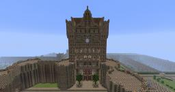 The Castle of the Medieval City of Langana Minecraft Map & Project