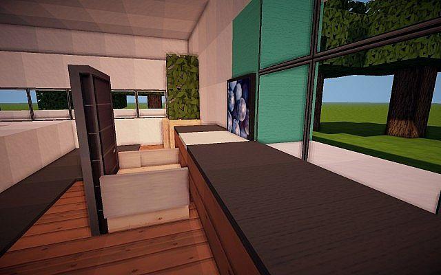 Matt s modern interiors master bedroom minecraft project