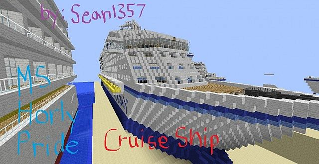 MS Horly Pride  A Luxurious Minecraft Cruise Ship OIO