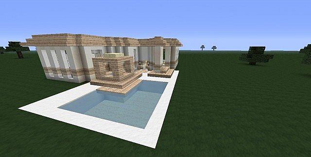 Birch Modern Home Minecraft Project