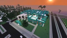 Arctic, a modern build. Minecraft Project