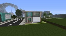 ~Synced~ A modern house by Flushay Minecraft Map & Project