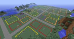 EZ City -- City Template for quick server setup. Minecraft Map & Project