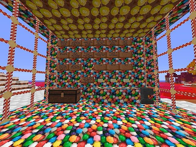 Candy World[1.6.2] Minecraft Project