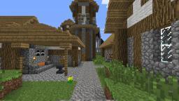 Medieval village: Segrath Minecraft