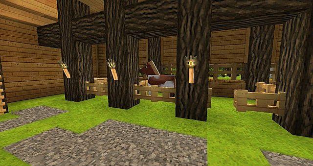 simple barn design minecraft map