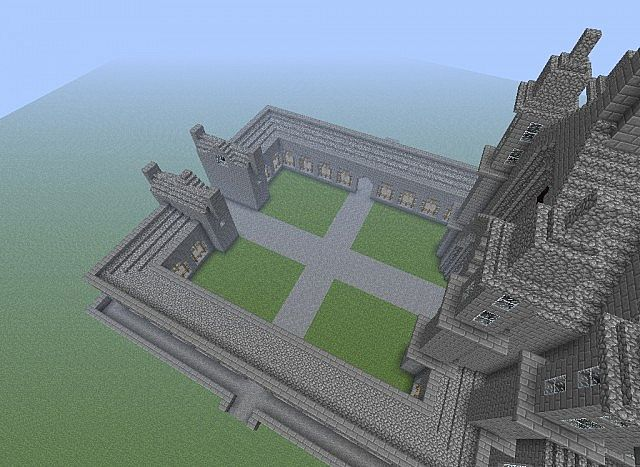 Accurate Minecraft Hogwarts! Mega Build! Minecraft Project