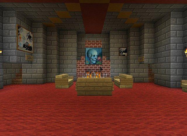 Gryffindor Common Room Minecraft Accurate Minecraft Hog...