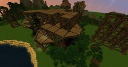 Pillar village Minecraft Map & Project