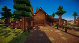 Ponderosa Ranch Minecraft Map & Project