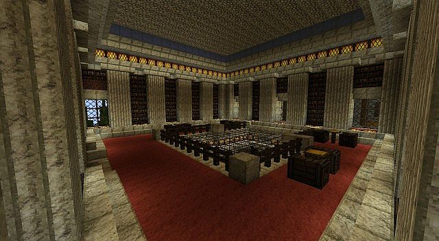 Upper Staff Meeting Hall