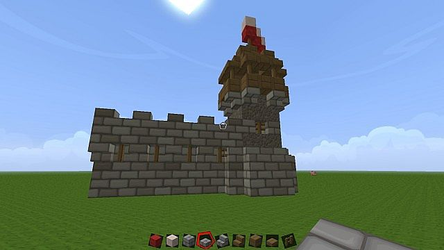 How to make a pretty castle minecraft project for Pretty project