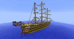 HMS Victoria Minecraft Map & Project