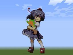Touhou Project - Aya Shameimaru Minecraft Map & Project