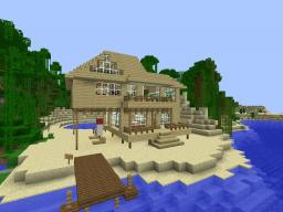 Minecraft Beach House Minecraft