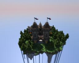 The Jarl's House on a floating Island (Fantasy Build) Minecraft Map & Project