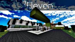 [Modern] 7eleven Petrol Station Minecraft Map & Project