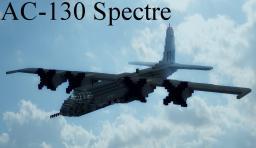 AC-130 Spectre Gunship Minecraft Map & Project