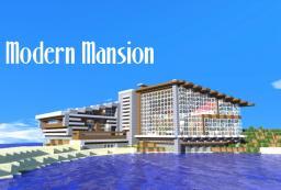 Modern 50s Mansion Minecraft