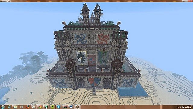 Giant Castle Minecraft Project