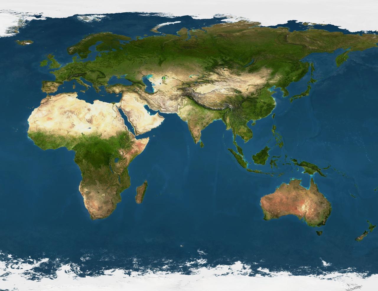 1:500 Scale Earth (Eurasia) Includes Africa and Australia