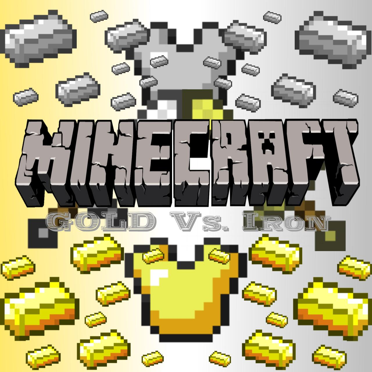 Gold Vs Iron Which Is Better Than The Other Minecraft Blog