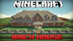Minecraft Brick House + Download Minecraft Map & Project