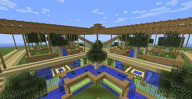Hanging gardens - Top level