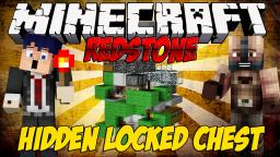 Ɏ Minecraft Redstone Tutorial Ɏ Hidden locked chest Minecraft
