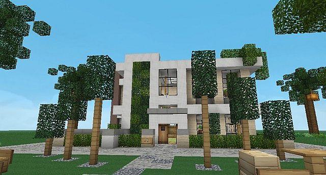 дом на дереве карта для майнкрафт 1.7.10 #10