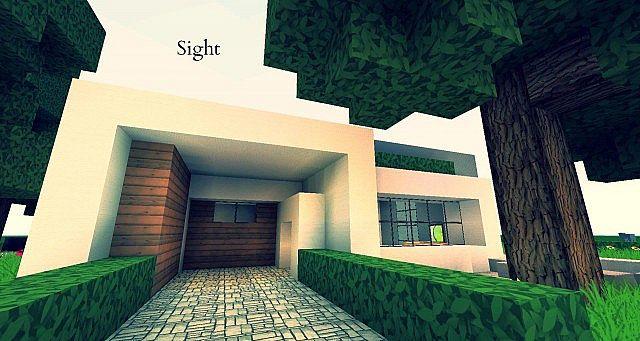 Sight A Minimalist Modern House Design Minecraft Project