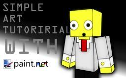 How to make simple minecraft avatar art