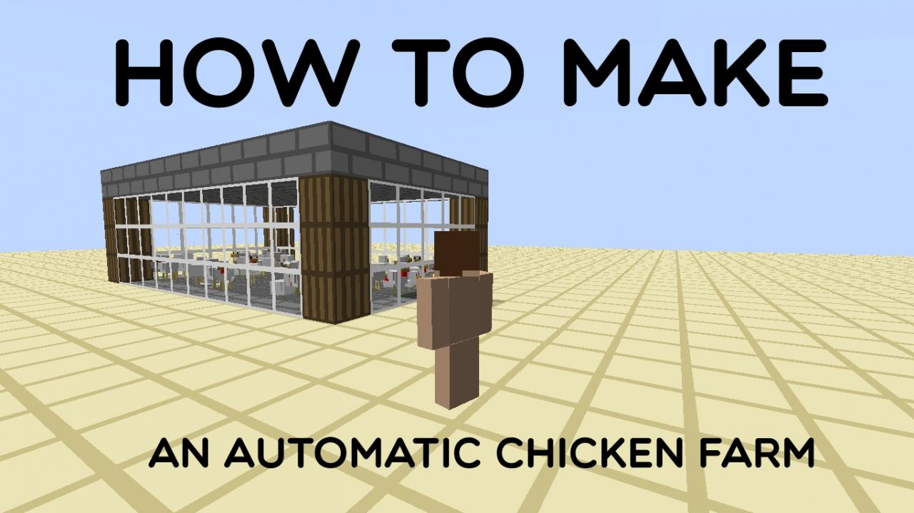 How To Make An Automatic Chicken Farm on Big Dig House