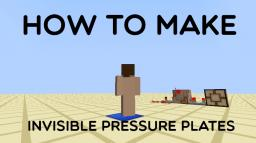 How to make an Invisible Pressure Plate [1.5+] Minecraft Blog