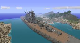IJN BattleShip Yamato [FULL INTERIOR] Minecraft Map & Project