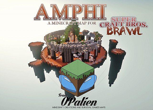 Map For Super Craft Bros