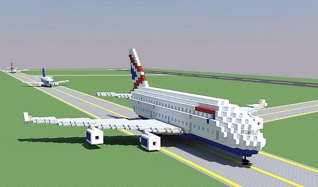 1 1 Airbus A380 7 Liveries Minecraft Project