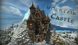 Fantasy Mountain Castle | with download Minecraft