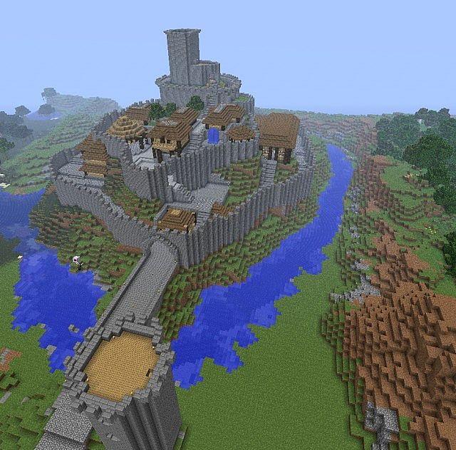 Camelot Keep Fincraftmc Server Build Minecraft Project