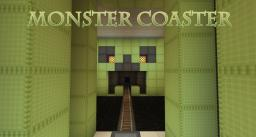Monster Coaster - A trippy Minecraft rollercoaster