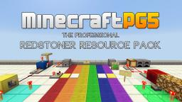 MinecraftPG5 - The Professional Redstoner Resource Pack v.1.0