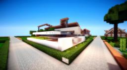 Modern Concept Minecraft Map & Project
