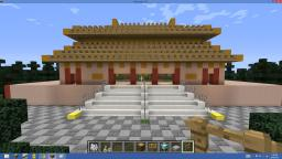 Earth Project - Japanese Pagoda Minecraft Map & Project