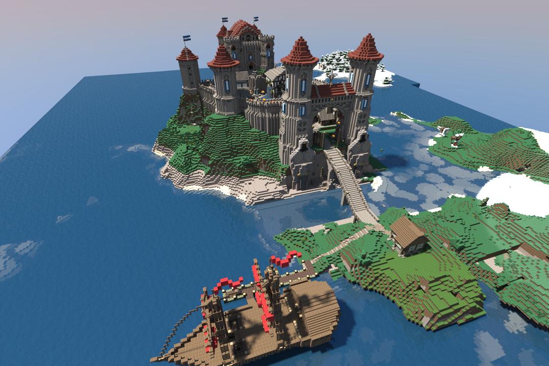 Old Stuff #1: Alacious - Medieval Sea Castle