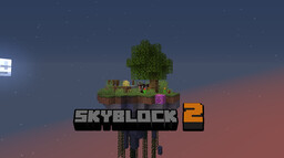 Sky Block 2 Minecraft Map & Project