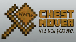 Chest Mover !!New Features!! Minecraft Data Pack